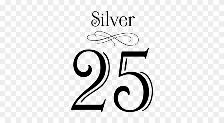 25th Anniversary Clip Art Free.