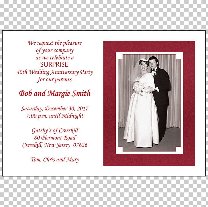 Wedding Invitation Wedding Anniversary Party PNG, Clipart, Free PNG.
