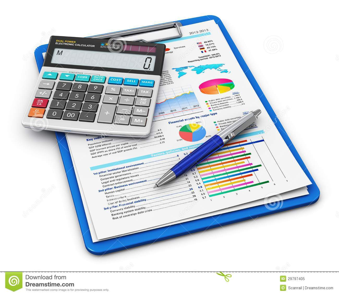 495 Accounting free clipart.