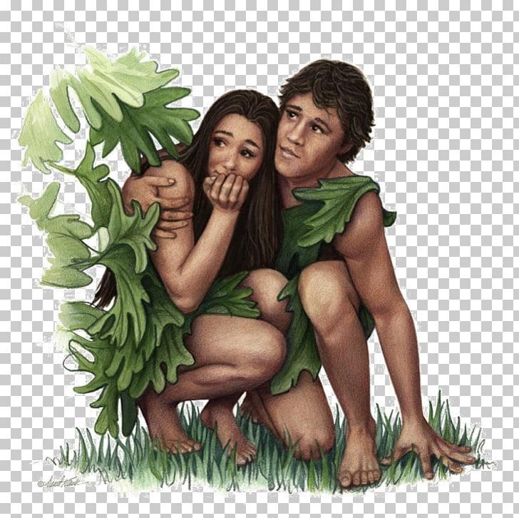 Adam and Eve Garden of Eden Fig leaf Common fig, God PNG.