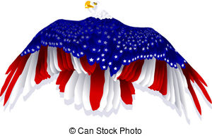 American flag eagle Illustrations and Clip Art. 1,904 American.