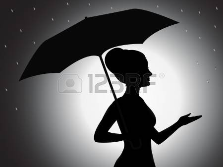 10,550 Umbrella Silhouette Cliparts, Stock Vector And Royalty Free.
