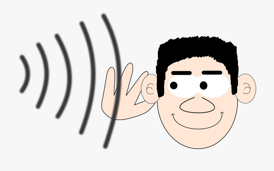 Hearing Clipart Large Ear.