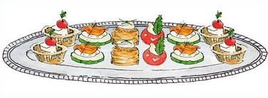 Appetizers clipart hors d oeuvres, Appetizers hors d oeuvres.