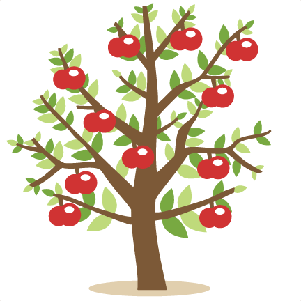 Apple Tree SVG cutting files for cricut silhouette pazzles free.
