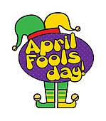 Clip Art of april fools day k12612158.