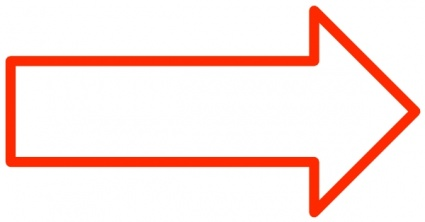 Simple Arrows clip art free vector.