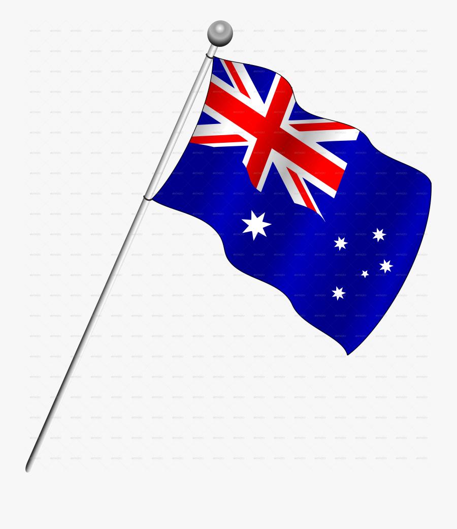 Flag Of Australia Clip Art.