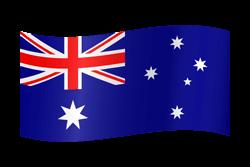 Australia flag clipart.