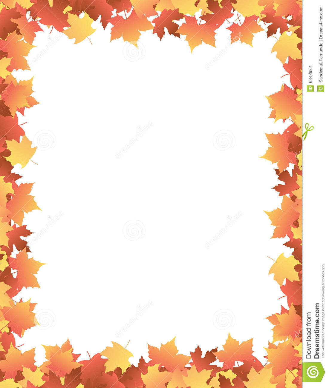 1863 Autumn Leaves free clipart.