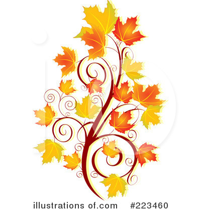 Autumn Flowers Clipart.