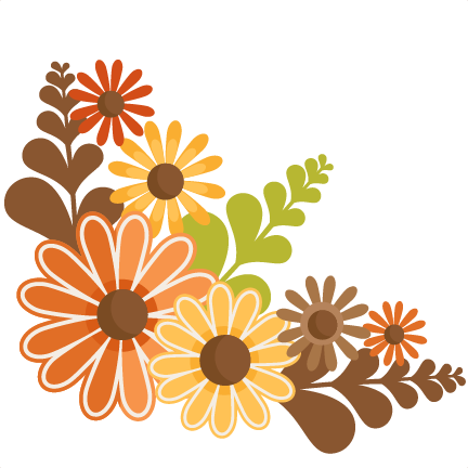 Gallery For > Free Clipart Autumn Flowers.