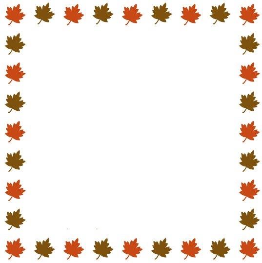 Fall border fall pumpkin borders clipart.