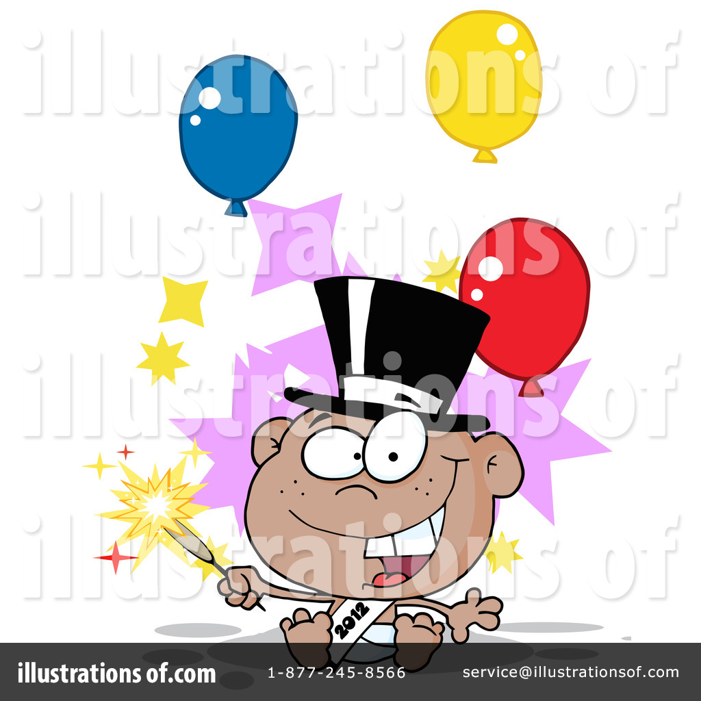 New Year Baby Clipart #1088228.