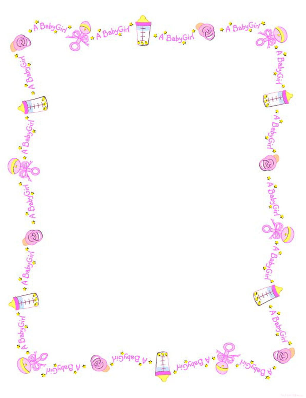 Baby Border Clip Art & Baby Border Clip Art Clip Art Images.