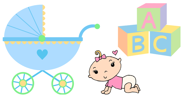 Free baby shower clip art you can download right now 2.