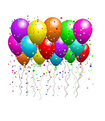 Free Pictures Of Balloons And Streamers, Download Free Clip.