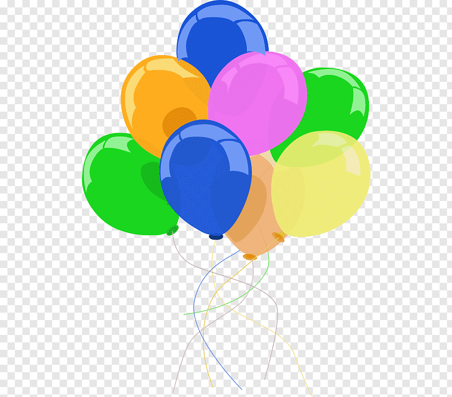 Balloon Party Birthday, Party Decor s free png.