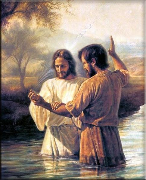 Lds Jesus Baptism Clipart.