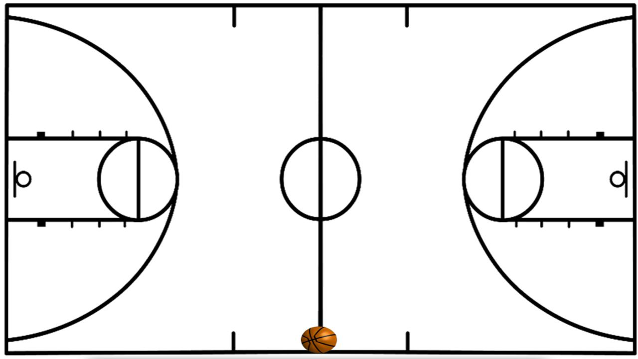 Best Basketball Court Clipart #5106.