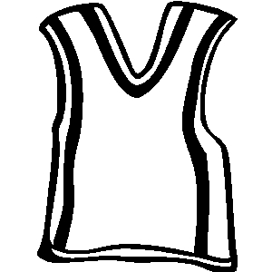 Free Clipart Basketball Jersey.