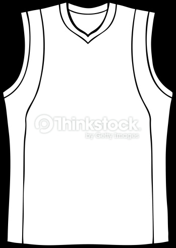 basketball jersey clip art free.