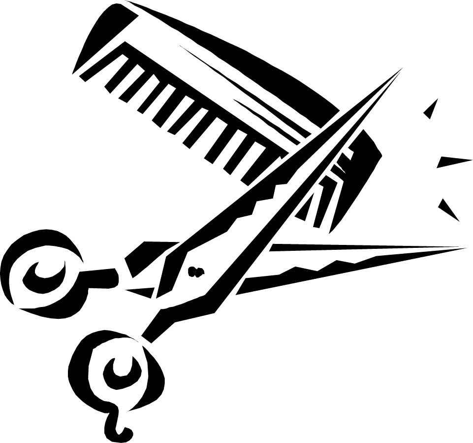 Hair Scissors And Comb Clip Art Clipart Panda Free Clipart.