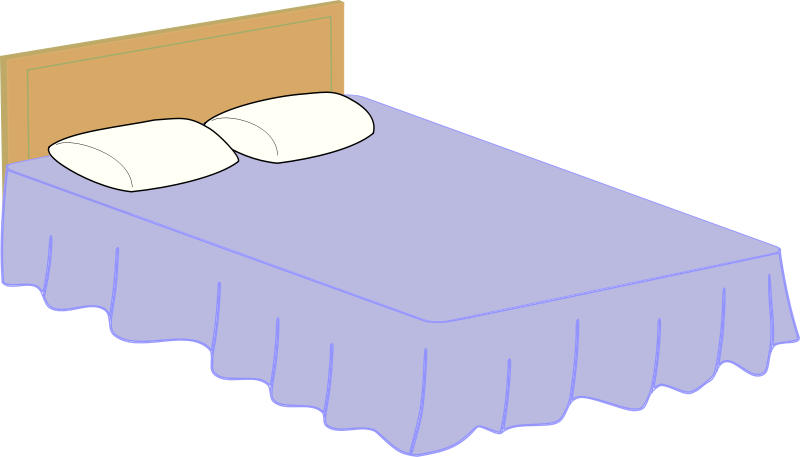 Free Clipart: Bed.