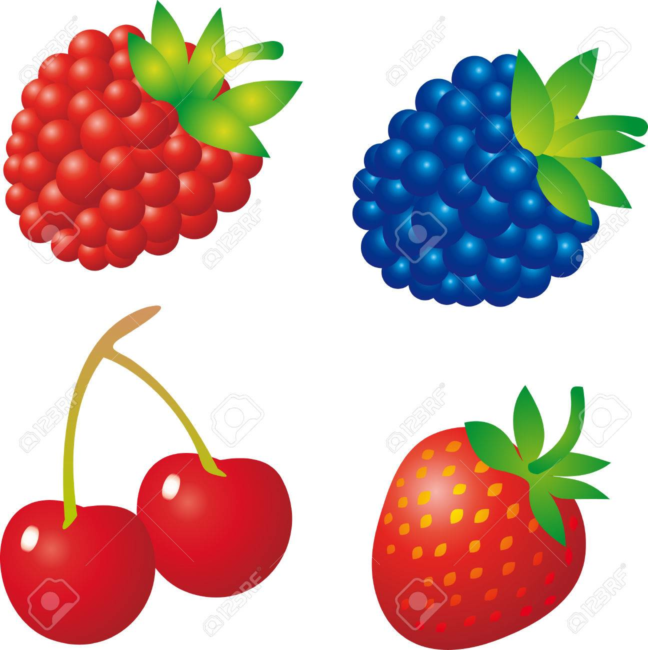 Collection of 14 free Berries clipart vector bamboo clipart sign.