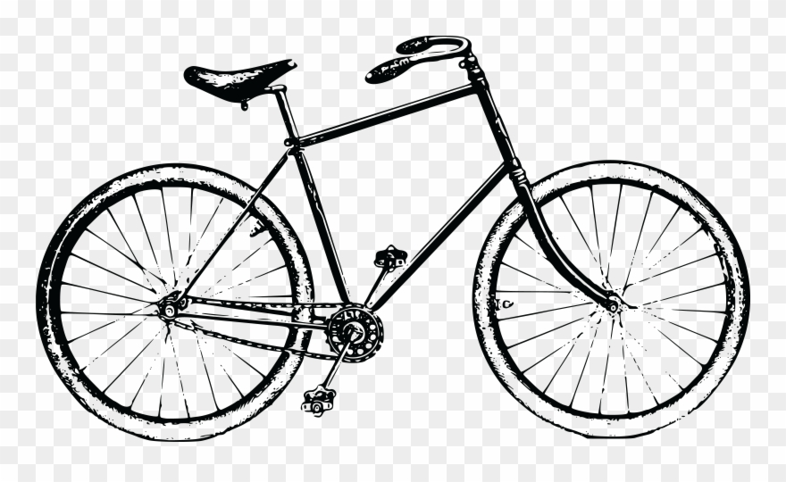 Free Clipart Of A Bicycle.