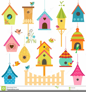 Free Clipart Of Bird Houses.