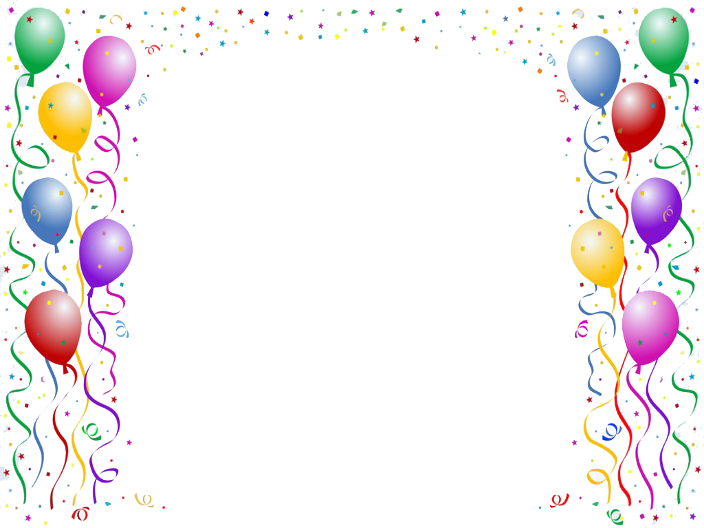 free clipart birthday borders