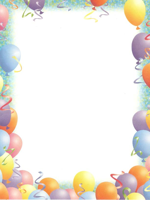 Free Clipart Birthday Borders 20 Free Cliparts Download