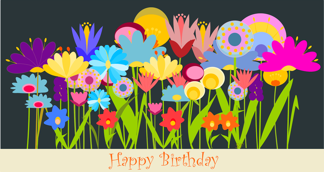 Free Birthday Cliparts Flowers, Download Free Clip Art, Free.