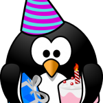 winter birthday clip art birthday penguin clip art clipart panda.