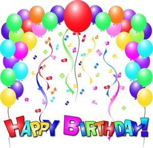 Free Birthday Balloon Art.