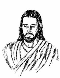 Black Jesus Life Clipart.
