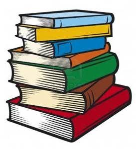 stack of books clip art.