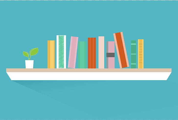 Bookcase Shelf , Bookshelf s PNG clipart.