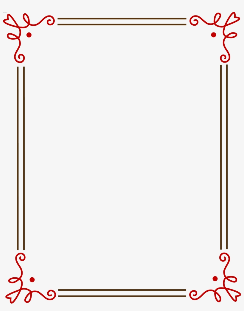 Free Christmas Clipart Borders Frames Large White Square.