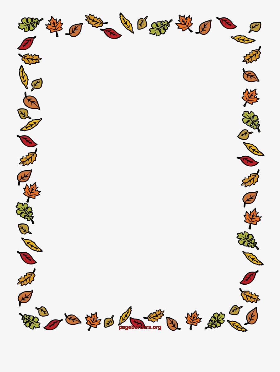Fall Border Free Borders Clip Art Page And Vector Graphics.