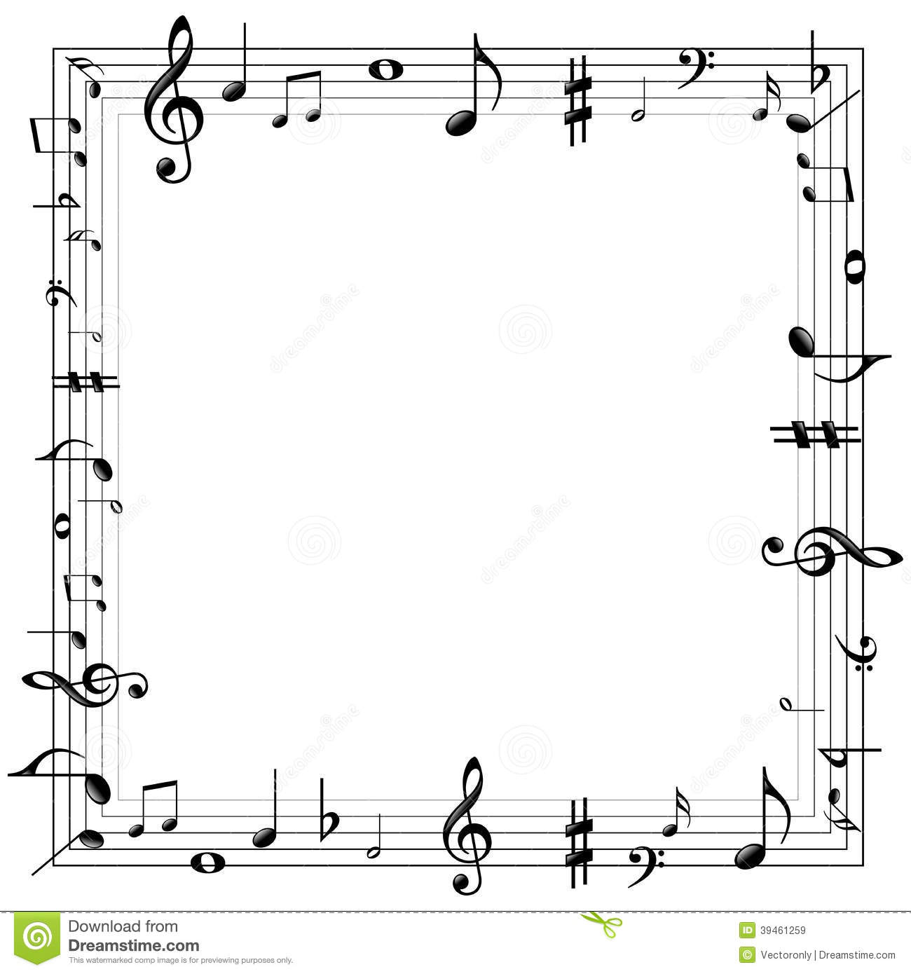 17525 Music free clipart.