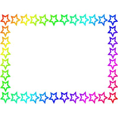 Star Page Border.