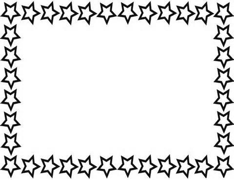 Free Clip Art Borders Stars.