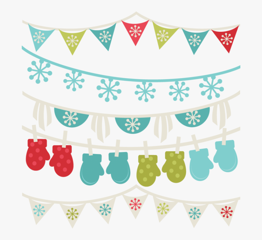 Free Winter Clipart Borders Winter Banners Svg Winter.