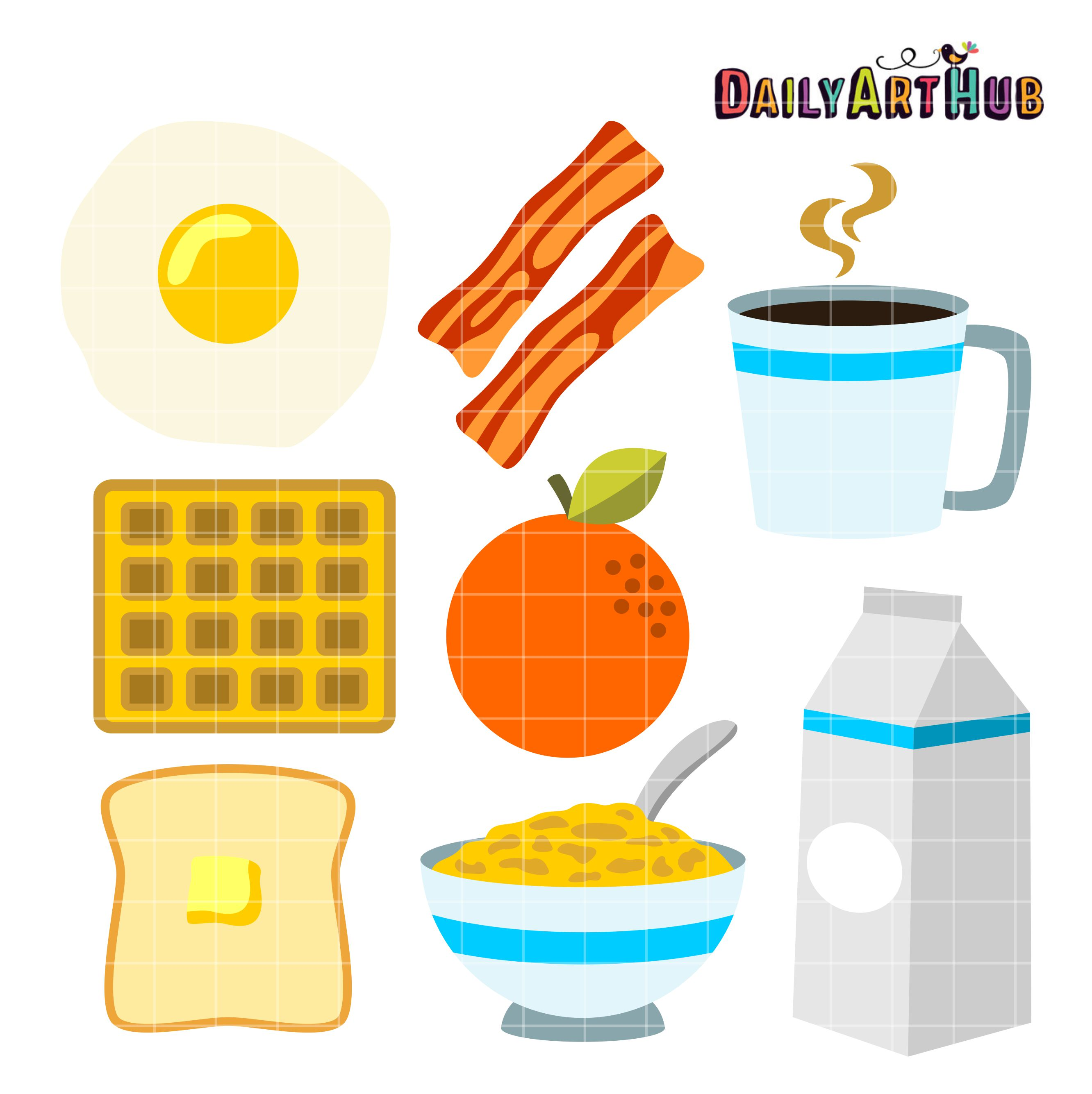 Free clipart breakfast items 4 » Clipart Station.