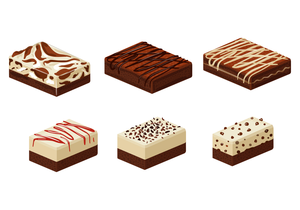 Brownie Food Clipart.