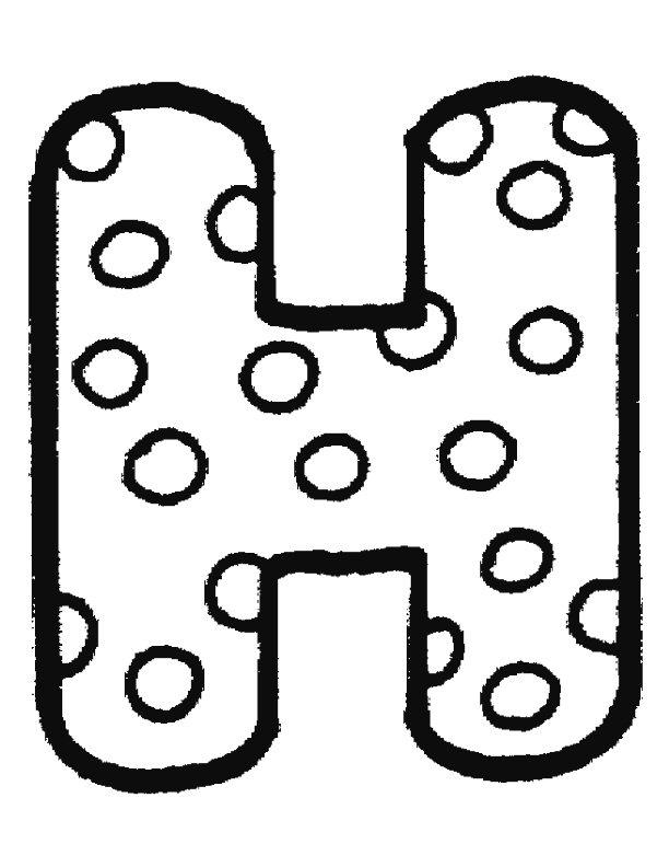 Free H Bubble Letter, Download Free Clip Art, Free Clip Art.