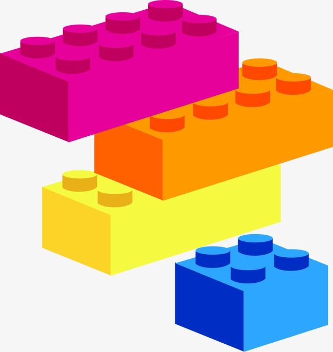 Blocks clipart colored block, Blocks colored block.
