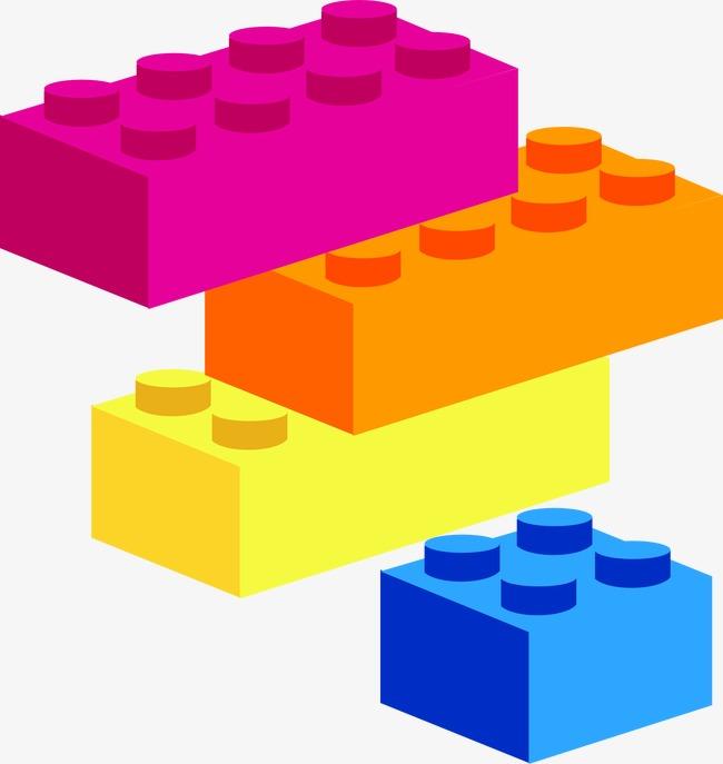 Blocks clipart colored block, Blocks colored block.